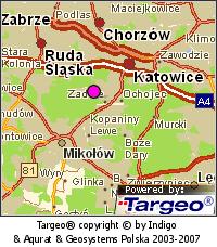Mapa orientacyjna okolicy
