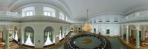 Pałac Prezydencki, Warszawa, Krakowskie Przedmieście 46/48 - Panoramy :: Zdjęcia na mapie Targeo