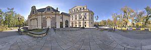 Teatr im. J. Słowackiego, Świętego Ducha, pl. 1, Kraków - Panoramy :: Zdjęcia na mapie Targeo