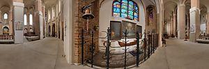 Katedra św. Jakuba w Szczecinie, św. Jakuba 5, Szczecin - Panoramy (Kaplica Ludzi Morza) :: Zdjęcia na mapie Targeo