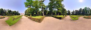 Muzeum Zamoyskich, 21-132 Kozłówka, Kozłówka - Panoramy (Pałacowy ogród) :: Zdjęcia na mapie Targeo