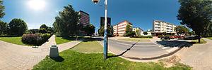 Spacer Wirtualny po Rzeszowie, Słowackiego Juliusza 26, Rzeszów - Panoramy (Skwer Kotowicza) :: Zdjęcia na mapie Targeo