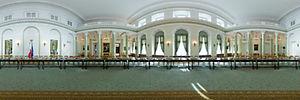 Okrągły Stół w Pałacu Prezydenckim, Warszawa - Panoramy :: Zdjęcia na mapie Targeo
