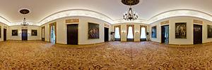 Pałac Prezydencki, Krakowskie Przedmieście 46/48, Warszawa - Panoramy (Sala bankietowa (obrazowa)) :: Zdjęcia na mapie Targeo