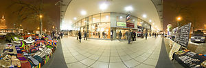 Domy Towarowe Centrum, Złota, Warszawa - Panoramy (Tuż przed świętami..) :: Zdjęcia na mapie Targeo